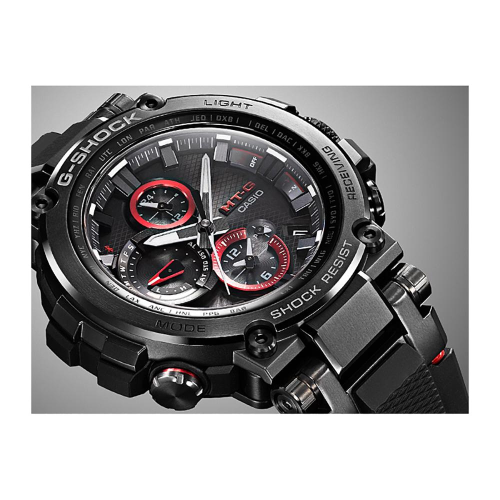 6681d2f9564 Relógio G-Shock MT-G MTG-B1000B-1AER Metal Twisted G • EAN ...