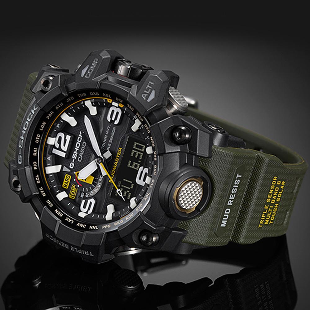 214779a0e56 Relógio G-Shock Master of G GWG-1000-1A3ER Mudmaster • EAN ...