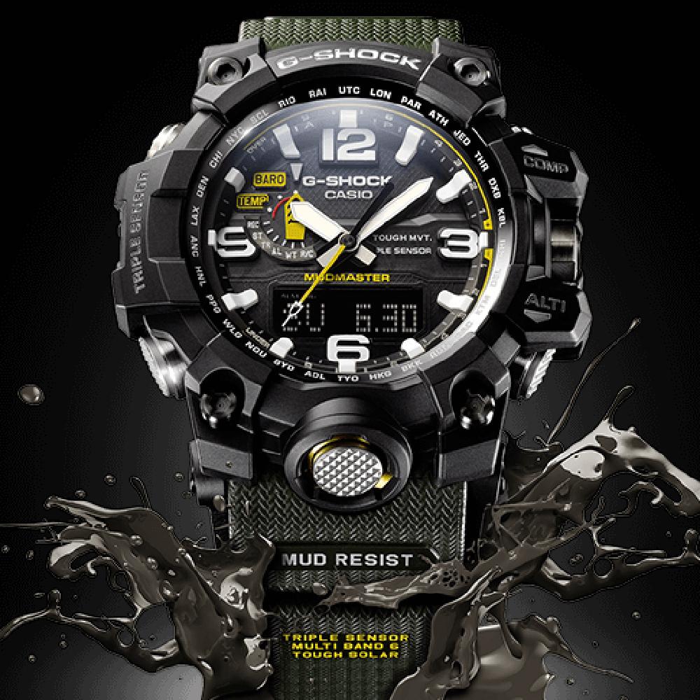 fe604850a01 Relógio G-Shock Master of G GWG-1000-1A3ER Mudmaster • EAN ...