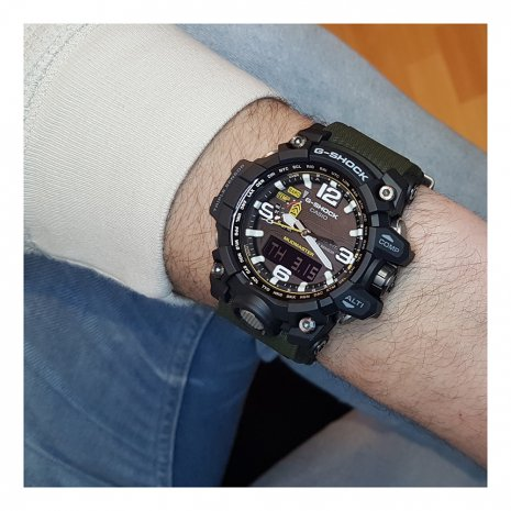 Radio Controlled Watch with Compass, Barometer, Altitmeter and Thermometer Colecção Outono/Inverno G-Shock