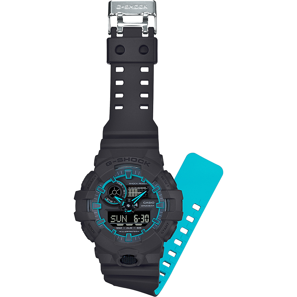 38a4a404148 Relógio G-Shock Classic Style GA-700SE-1A2ER Pastel Color • EAN ...