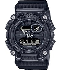 GA-900SKE-8AER Skeleton Series - Black 49.5mm