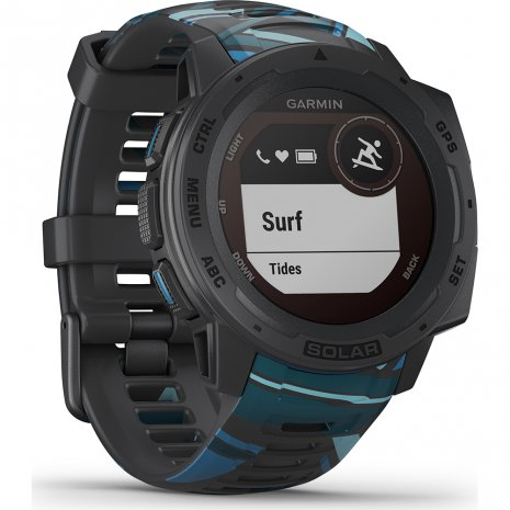 Solar GPS outdoor smartwatch with watersports functions Colecção Primavera/Verão Garmin