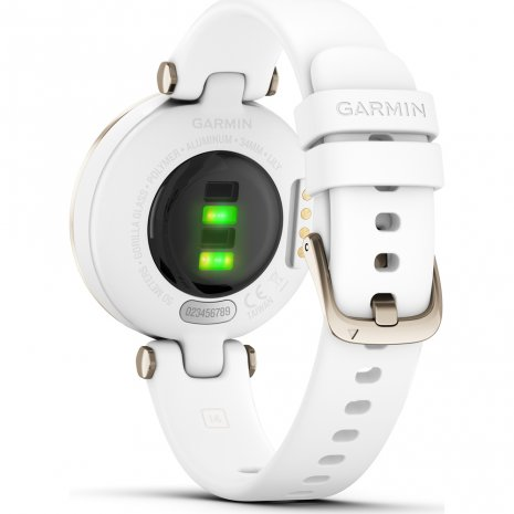 Cream white and gold ladies multisport smartwatch Colecção Primavera/Verão Garmin