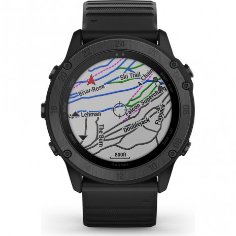Tactical outdoor GPS smartwatch with stealth functionality Colecção Primavera/Verão Garmin