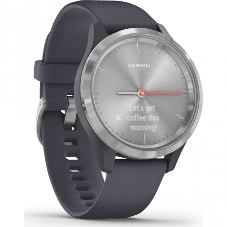 Small hybrid smartwatch with hidden touchscreen Colecção Primavera/Verão Garmin