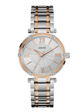 W0636L1 Park Ave 36mm Stylish two-tone ladies watch