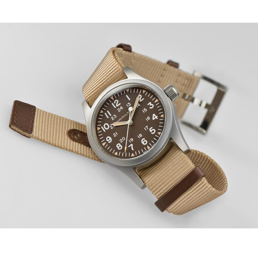 103b70d7806 Relógio Hamilton Kaki H69429901 Khaki Field • EAN  7640167046317 ...