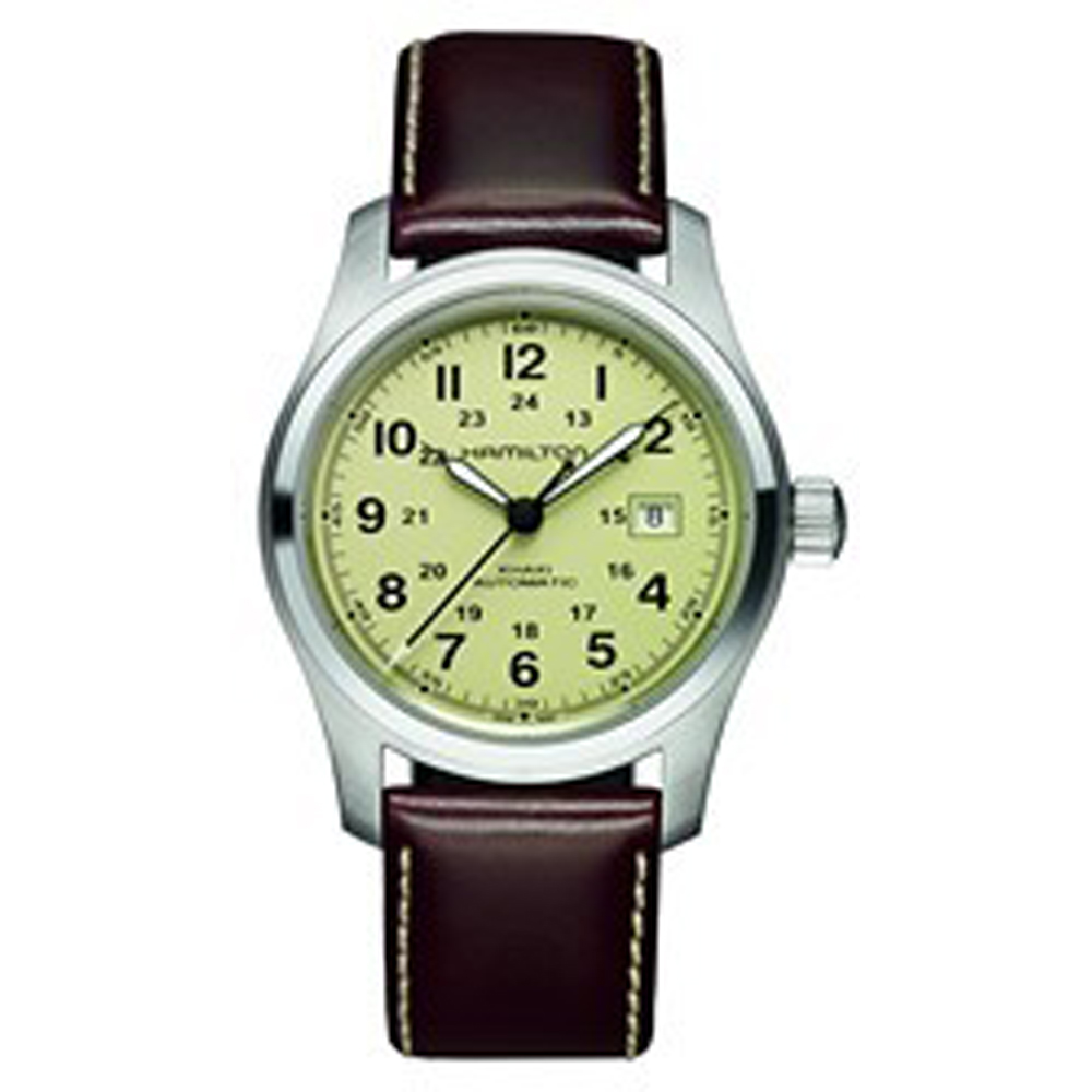 ee8cc51053c Relógio Hamilton Khaki Field H70555523 Khaki Field • EAN ...