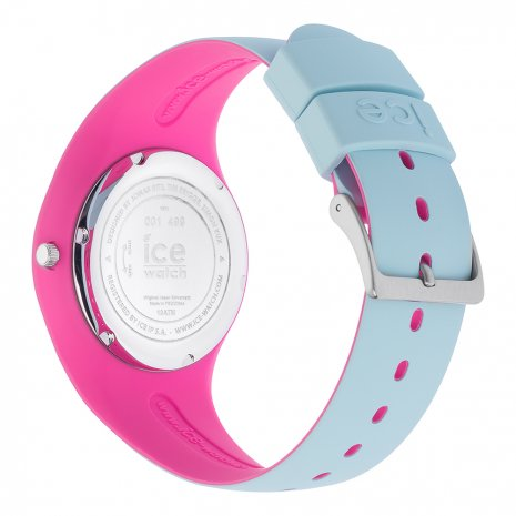 Blue & Pink Silicone Watch Size Medium Colecção Primavera/Verão Ice-Watch