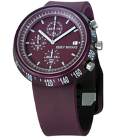 SILAT006 Trapezoid 43mm Purple chrono with trapezoid case