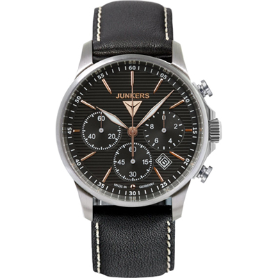 Junkers Tante JU 52 Gents Quartz Chronograph with Date