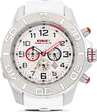 KYM-001-55 Chrono Silver Dice 55mm