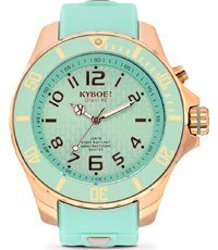 RG-007-48 Rose Gold Mint 48mm