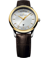LC1227-PVY11-130-2 Les Classiques 38mm Swiss Made Gents Quartz Watch with DayDate