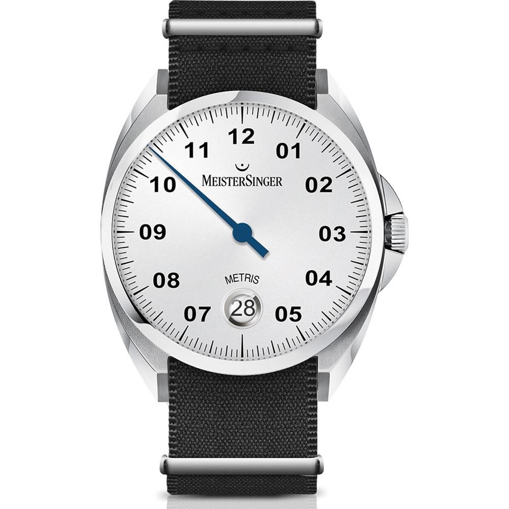 Relógio Meistersinger Relógio de Um só Ponteiro extra ME901 Metris ... a1798637dd