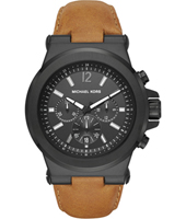 MK8512 Dylan Big 48mm Black chronograph with dat