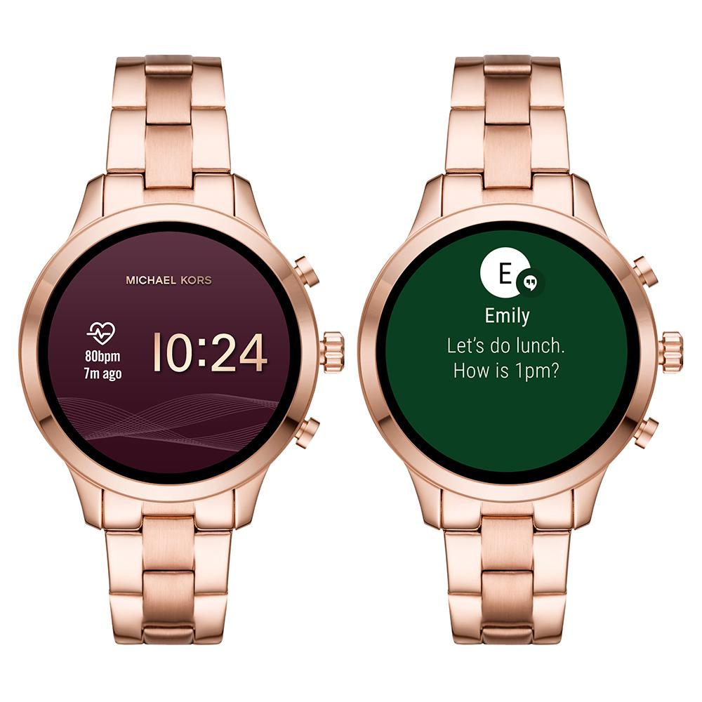 fcf76ff55 Michael Kors relógio Ouro Rosa. relógio Ouro Rosa Smart Digital.  Touchscreen Smartwatch ...