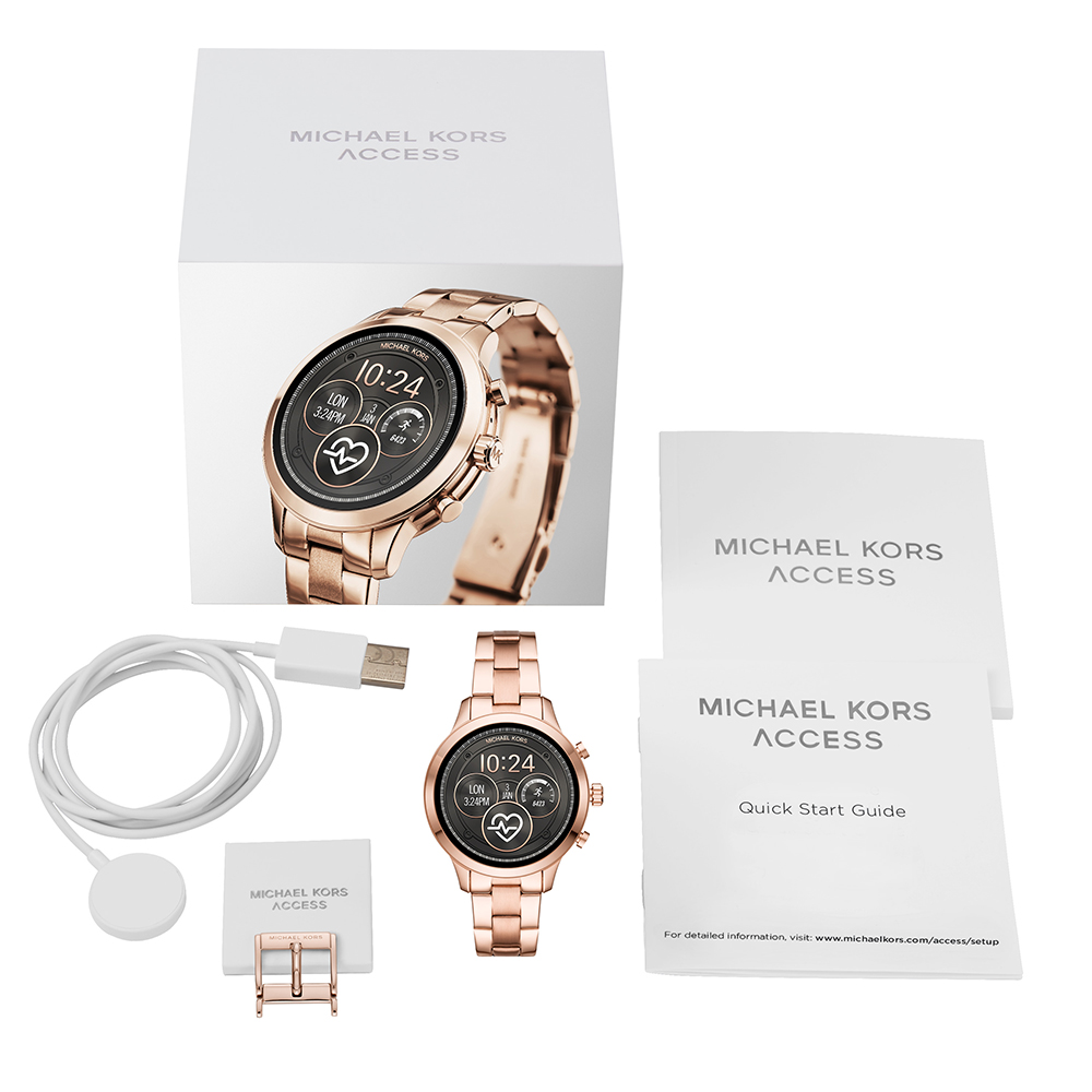 5eafa6cd21a Touchscreen Smartwatch with Steel Bracelet - Gen4 Colecção Outono Inverno Michael  Kors