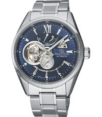 RE-AV0003L00B Orient Star - Open Heart 40mm