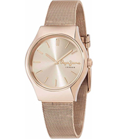 R2353113501 Joey 35mm Rose gold ladies watch with mesh bracelet