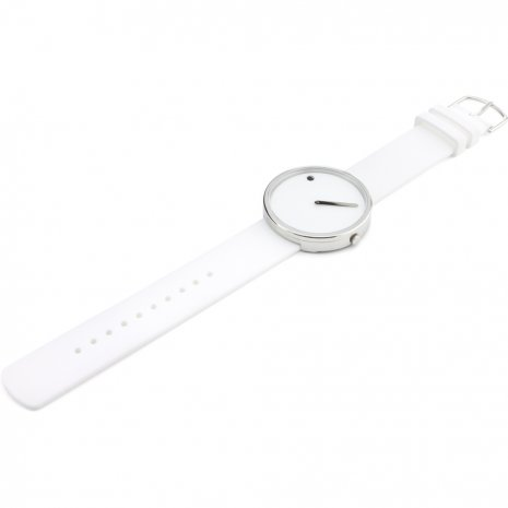 White Design Watch Medium Size Colecção Outono/Inverno Picto