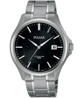 PS9431X1  40mm Titanium Gents watch with Date
