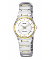 PTA246X1  24mm Bicolor Ladies Watch with Sapphire Crystal