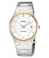 PVK120X1 PVK120K1 35mm Thin Bicolor Quartz Watch with Date
