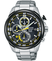 PZ6003X1  45mm Steel chronograph solar with tachymeter