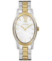 2614680 Elise 24.70mm Bicolor oval ladies watch with crystals