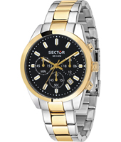 R3273786001 245 Racing 41mm Bicolor Gents Quartz Chronograph with Date