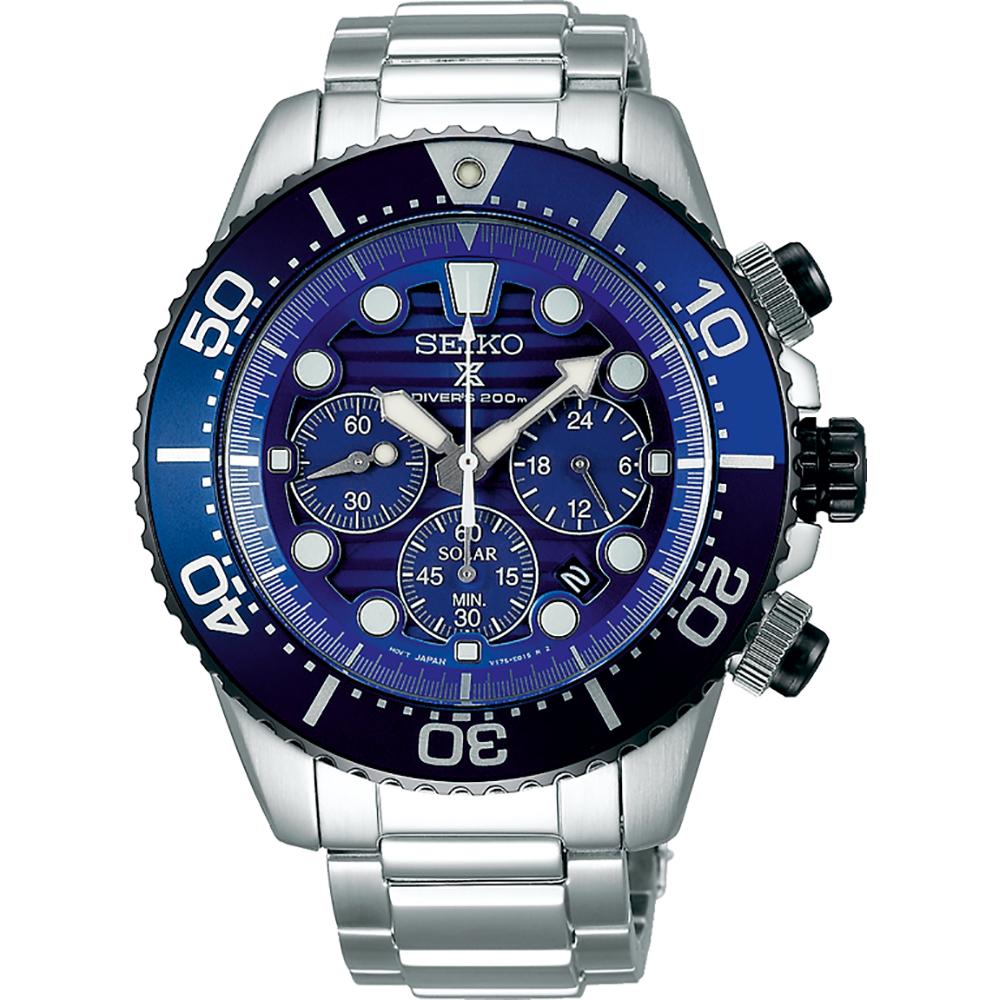 e35b4c86daf Relógio Seiko Prospex SSC675P1 Prospex Sea Solar Chronograph • EAN ...