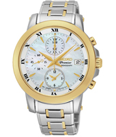 SNDV70P1  37.20mm Bicolor Ladies Chronograph with MOP Dial
