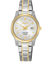 SXDG64P1  29.20mm Bicolor Ladies Watch with Sapphire Crystal