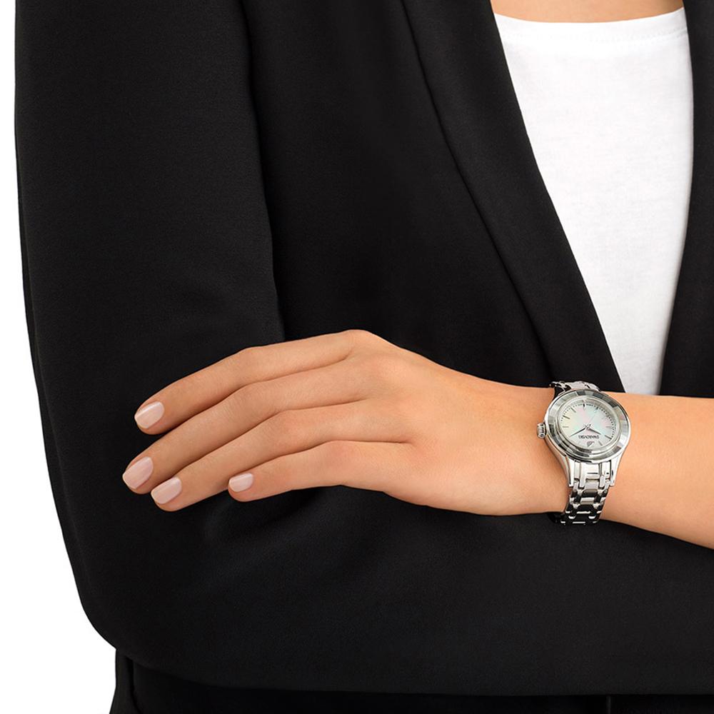 4facdbd1a0f Relógio Swarovski 5188848 Allegria. Swarovski Allegria relógio. Swarovski  relógio 2016. Swarovski relógio prata