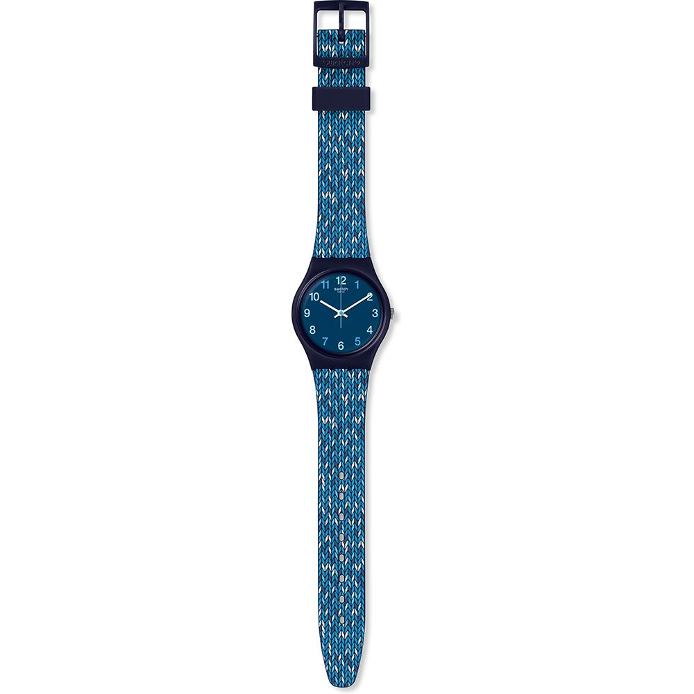 Relógio Swatch Originais GN259 Trico Blue • EAN  7610522787773 ... 1d9bae41ef