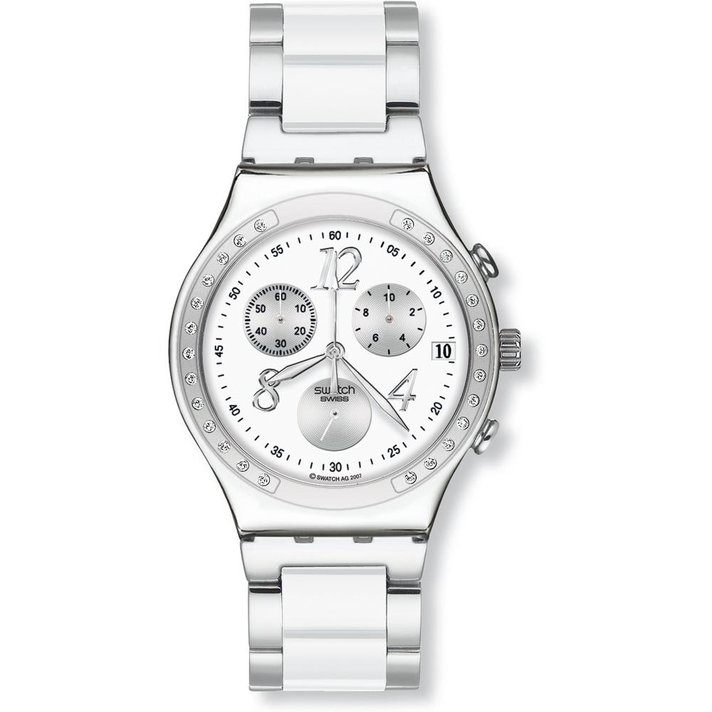 9dafe03b2da Relógio Swatch Irony YCS511G Dreamwhite • EAN  7610522283121 ...