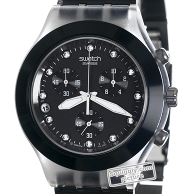bd5950943af Relógio Swatch Irony SVCK4035AG Full-Blooded Night • EAN ...