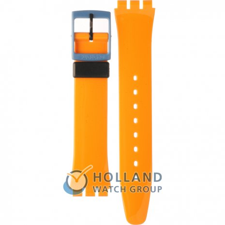 Swatch GB268 Orange 'N Petrol Bracelete