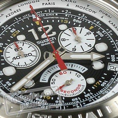 4bc9043c0cd Relógio Swatch Irony YOS414G Get Fly Black • EAN  7610522282483 ...