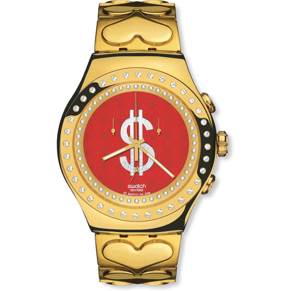 d5d718a48ec Relógio Swatch Irony YOG101G Giant Shimmer • EAN  7610522283572 ...