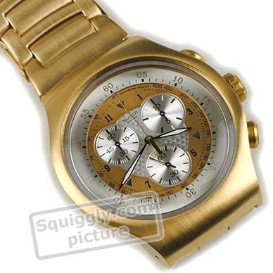 597884c5b68 Relógio Swatch Irony YOG100G Golden Chest • EAN  7610522282278 ...