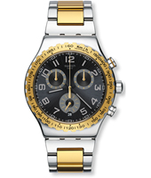 YVS427G Golden Youth 43mm Steel New Irony Chronograph