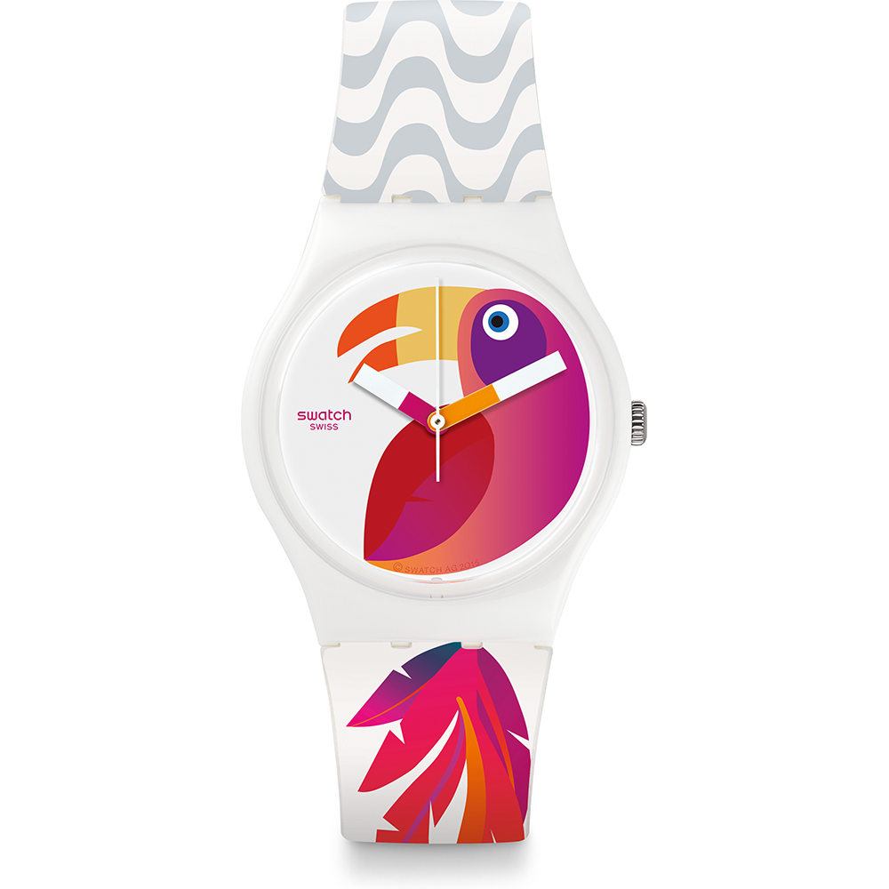 923c9c017ac Relógio Swatch Originais GW175 Papagaye • EAN  7610522689145 ...