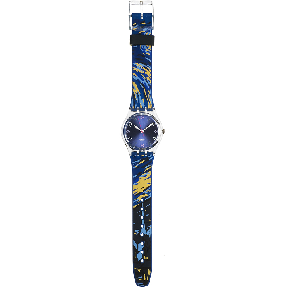 9e6a94ce174 Relógio Swatch Originais GN209C The Starry Night by Van Gogh • EAN ...