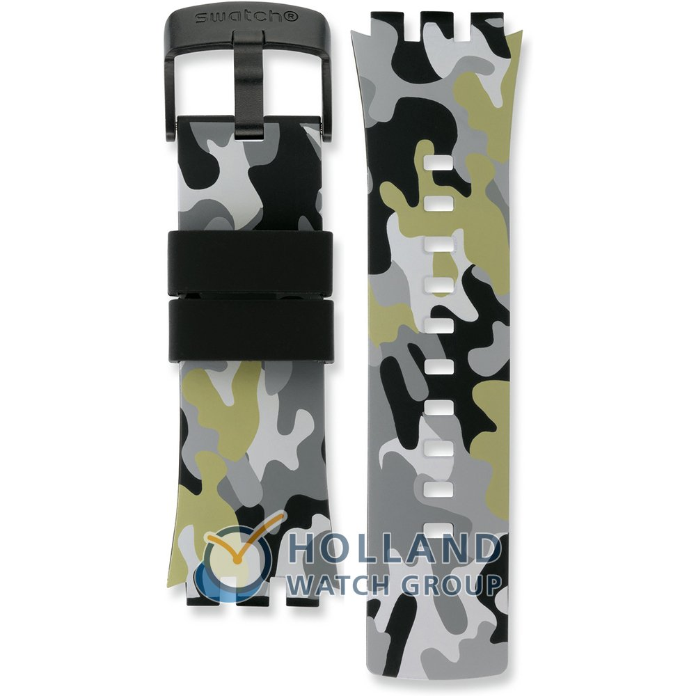7e8ab269864 Bracelete Swatch ASURB105 Touch Camouflage • Revendedor oficial ...