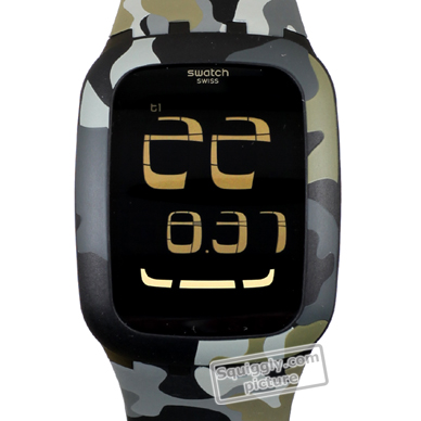 84a7ea6c704 Relógio Swatch SURB105 Touch Camouflage • EAN  7610522202702 ...