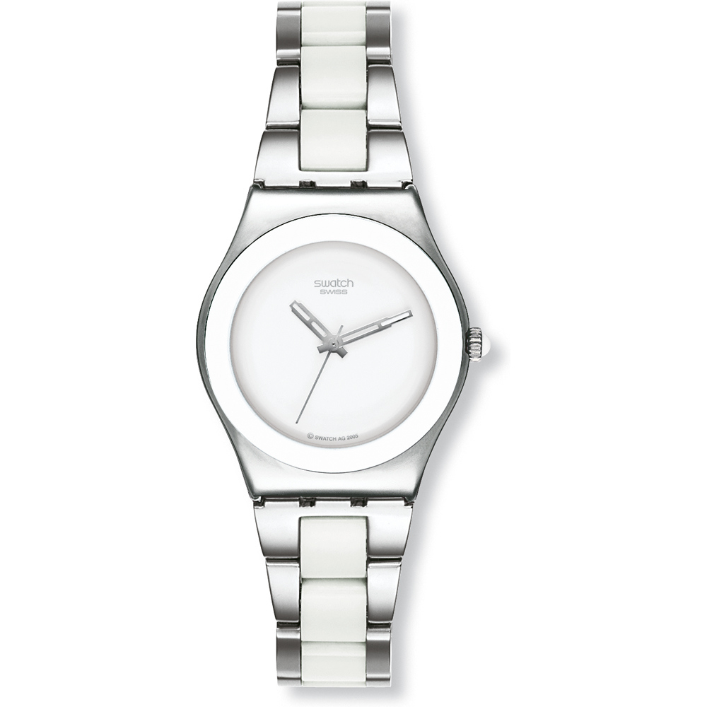 c531eb448fc Relógio Swatch Irony YLS141G White Ceramic • EAN  7610522322035 ...