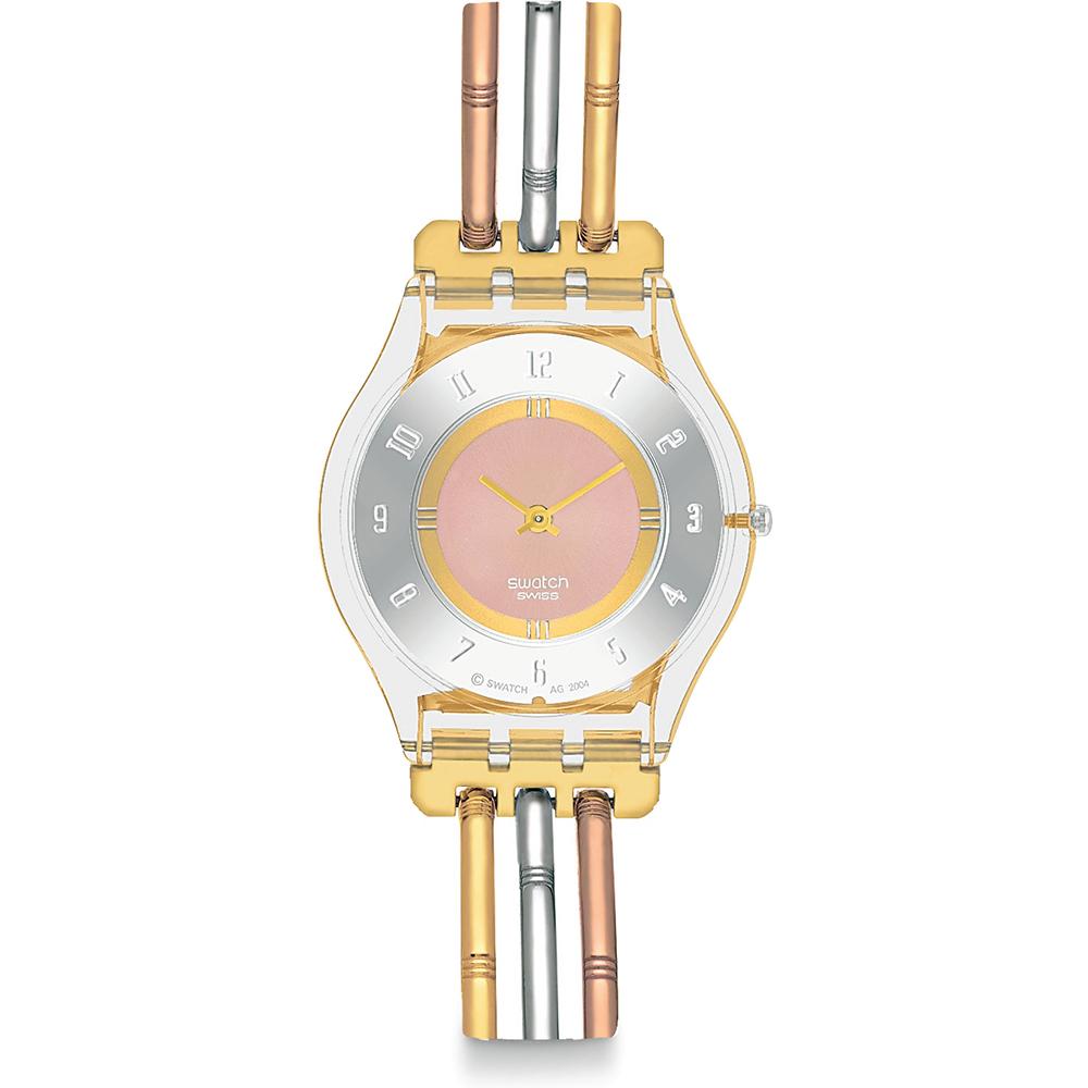 f3f26b9ad3d Relógio Swatch Skin SFK240B Tri-Gold Small • EAN  7610522273115 ...